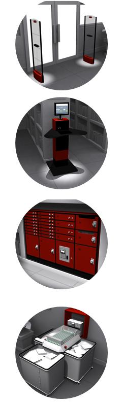 Solutions RFID NEDAP pour les Bibliothèques